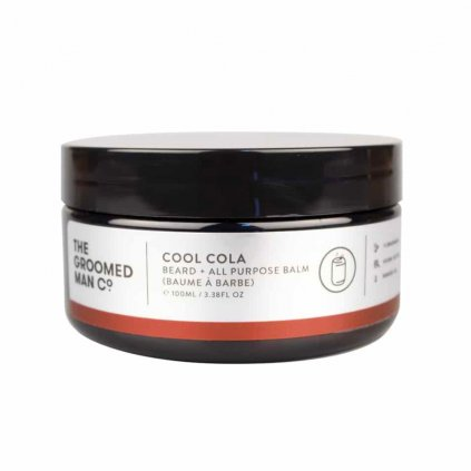 The Groomed Man Co Cool Cola Beard Balm balzam na vousy