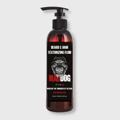 mad dog beard and hair texturizing fluid