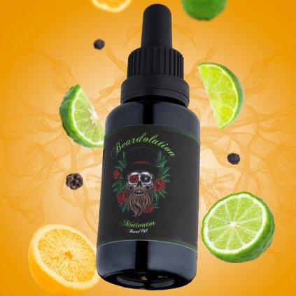 beardolution motivator beard oil