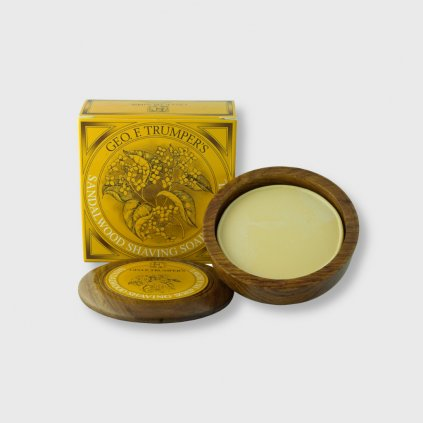 geo f trumper sandalwood shaving soap