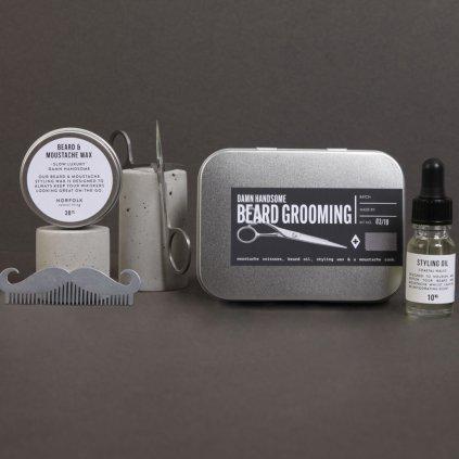 Damn handsome beard grooming kit new