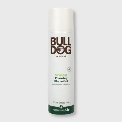 bulldog original foaming shave gel na holeni