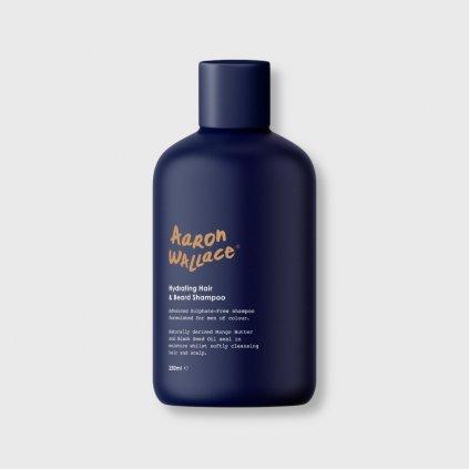 aaron wallace hair beard hydrating shampoo
