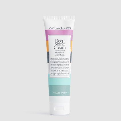 Waterclouds Deep Shine Cream třpytivý stylingový krém na vlasy s regeneračním účinkem 150 ml