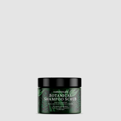 Waterclouds BOTANICAL Shampoo Scrub přírodní peelingový šampon s keratinovým komplexem 200 ml