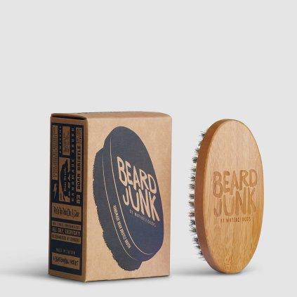 Beard Junk Beard Boar Bristle Brush kartáč na vousy
