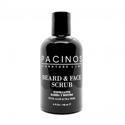 pacinos beard and face scrub novy min