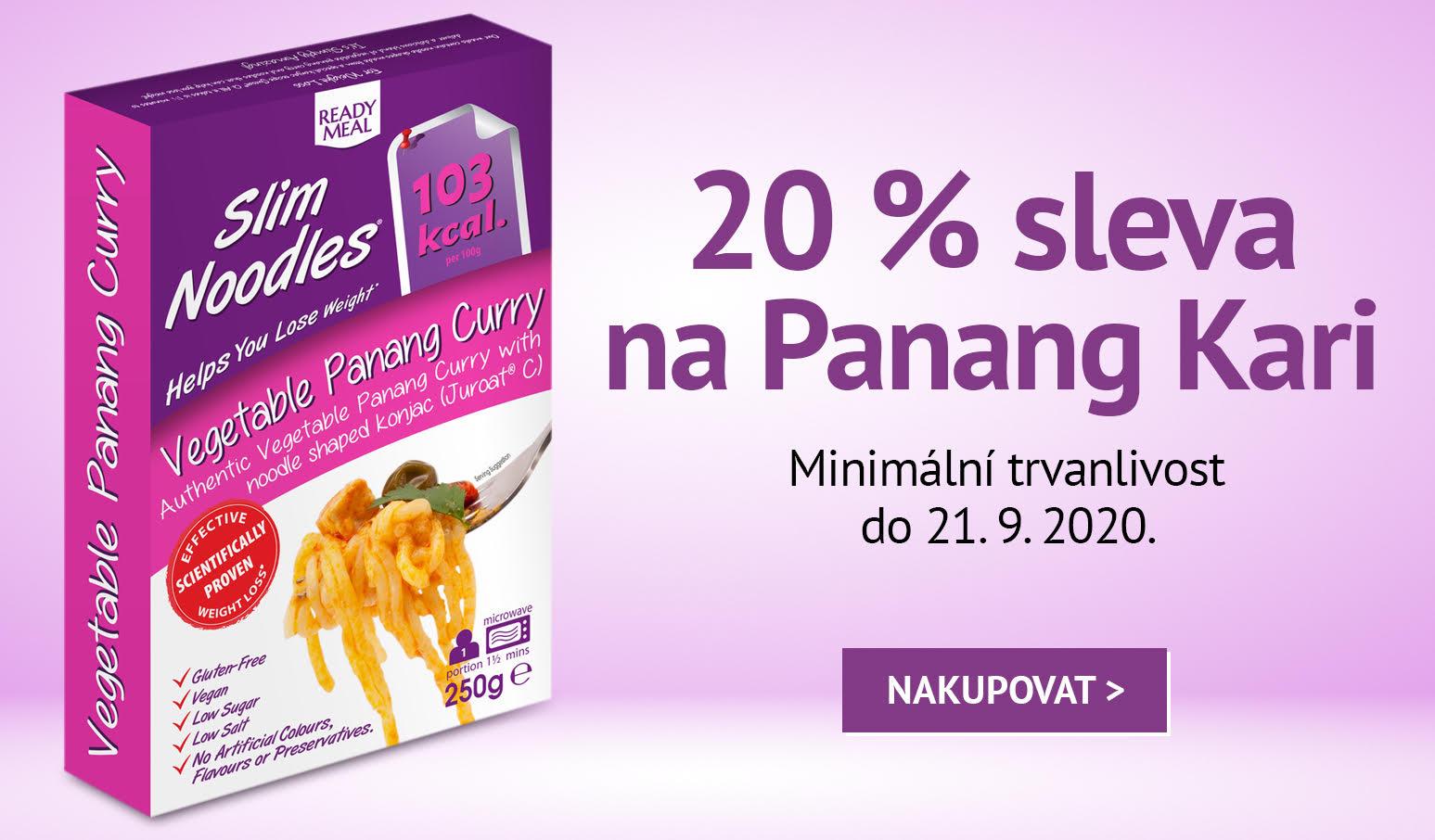 Panang Kari - 20 % sleva