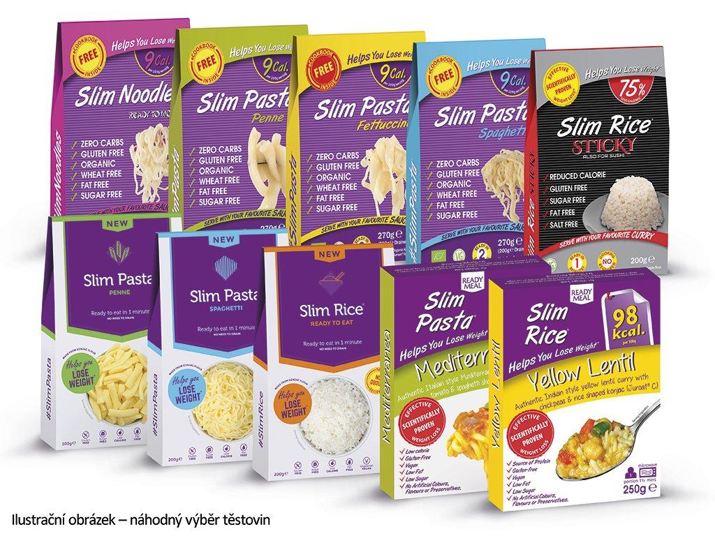 Ochutnávkový balíček Slim Pasta