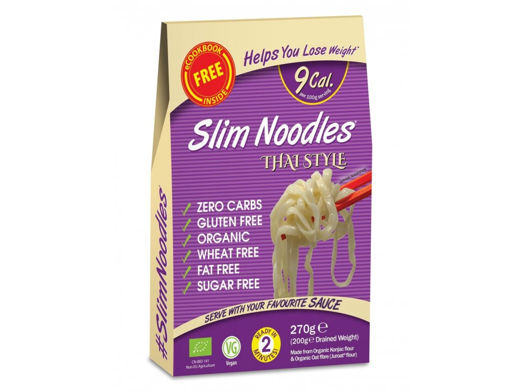 Slim Pasta noodles thai style
