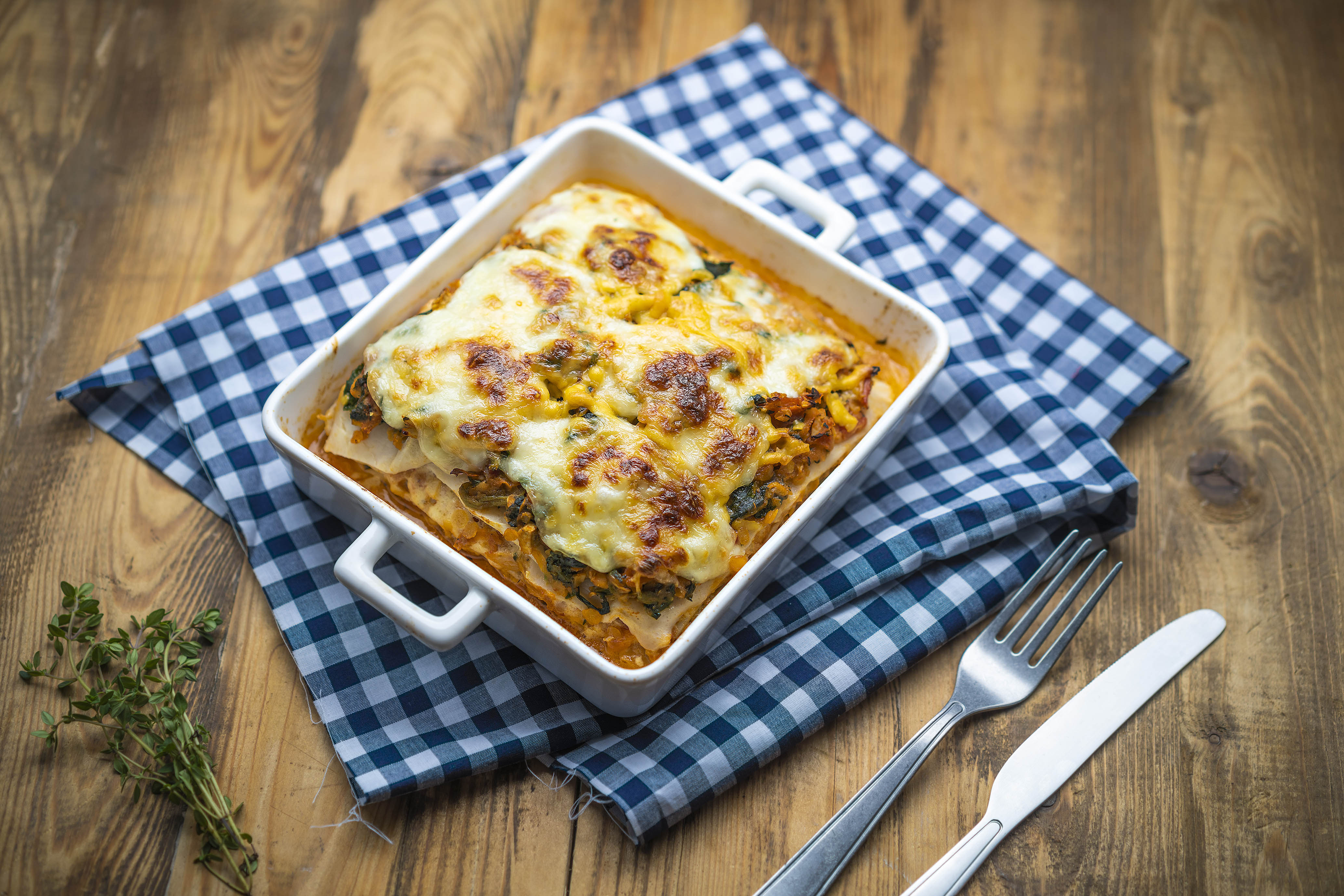Vegetariánske lasagne Slim Pasta