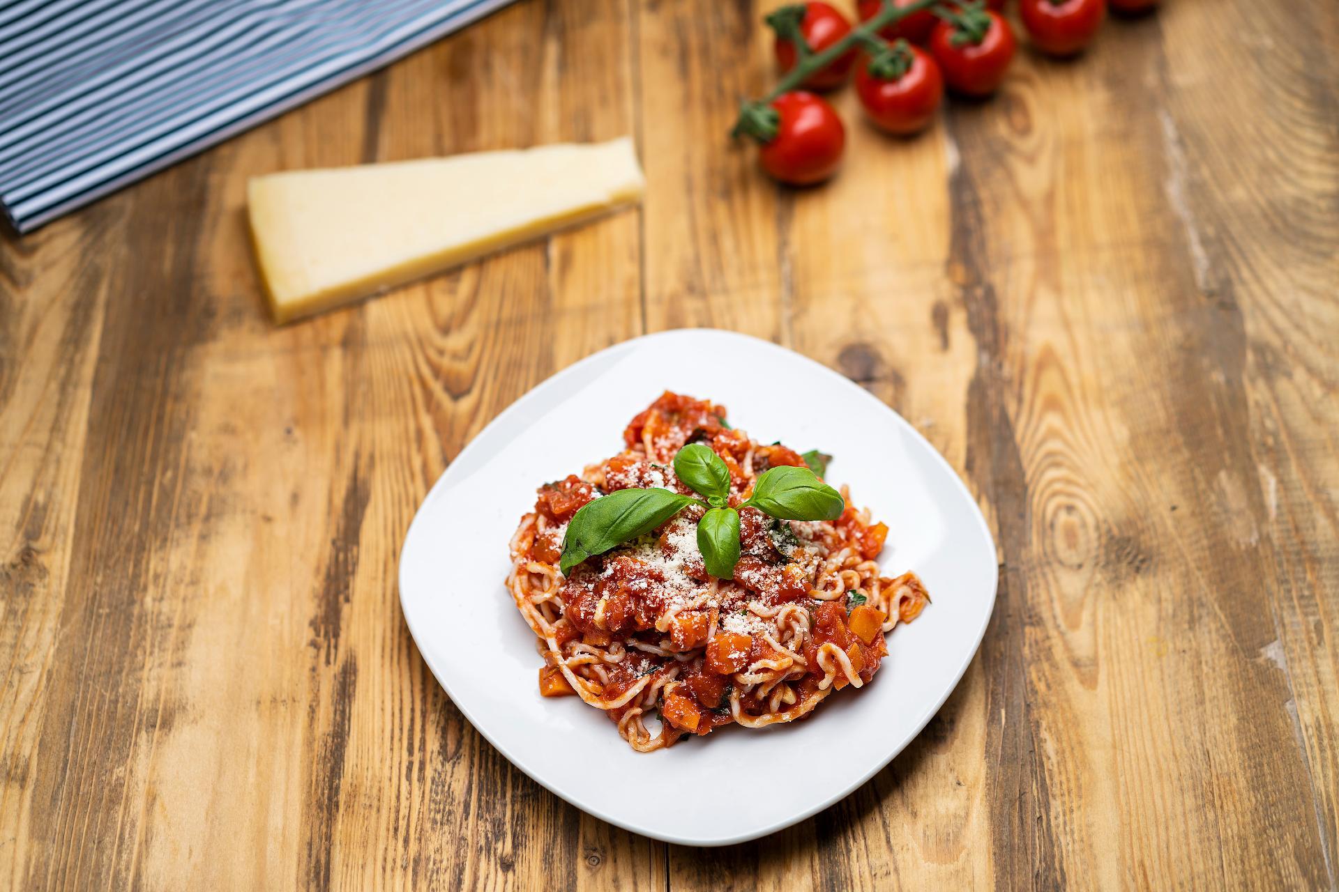 Šťavnaté špagety all´amatriciana