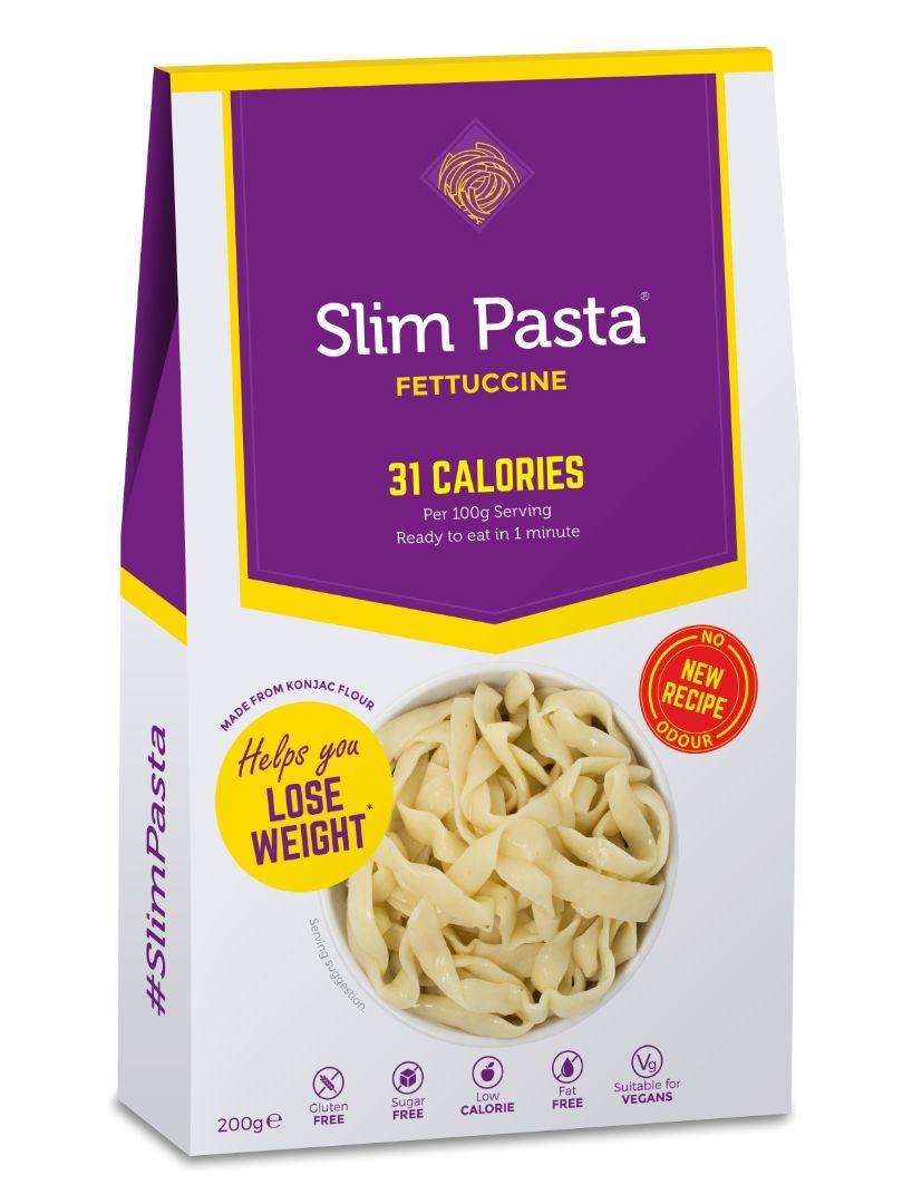 Slim Noodles Slim Pasta konjakové fetučíny bez nálevu 200 g