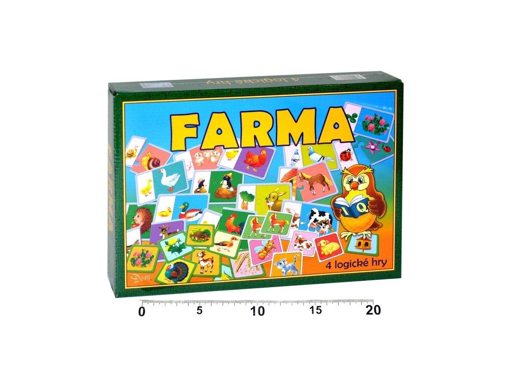 1162 spolocenska hra farma
