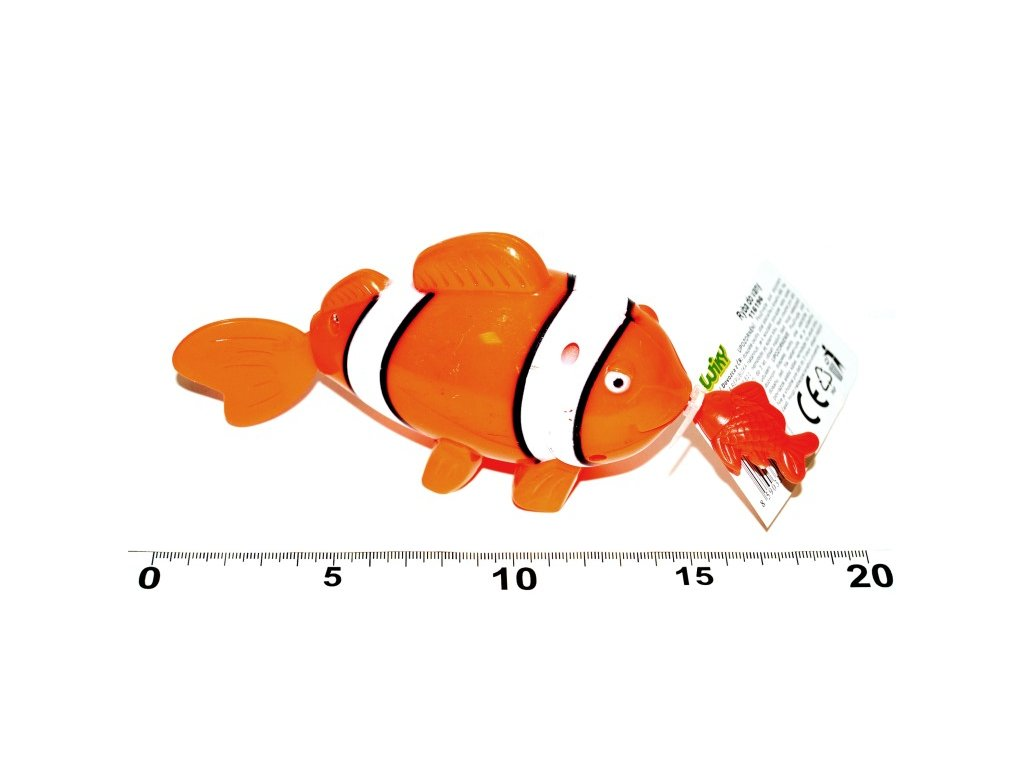 1591 ryba do vane 19cm