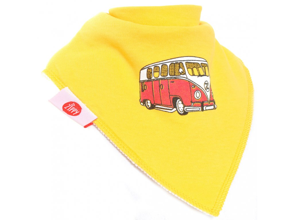 163 zippy zabavna satka yellow campervan