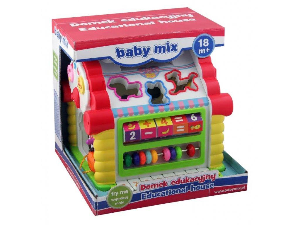 1768 edukacna hracka baby mix domcek