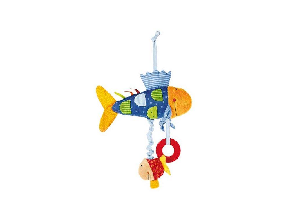 1858 sigikid play q baby aktivna ryba 26cm