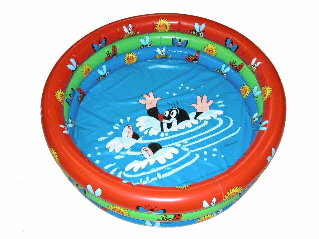 2749 nafukovaci bazen krtko 122x20cm
