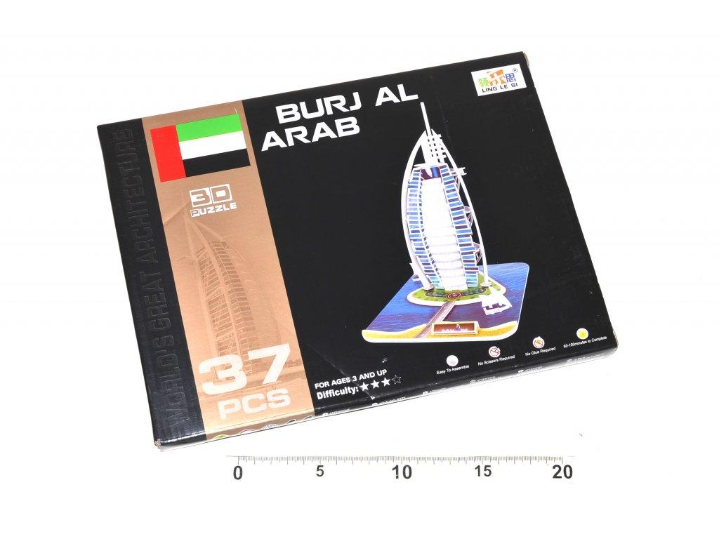 2791 3d puzzle burj al arab