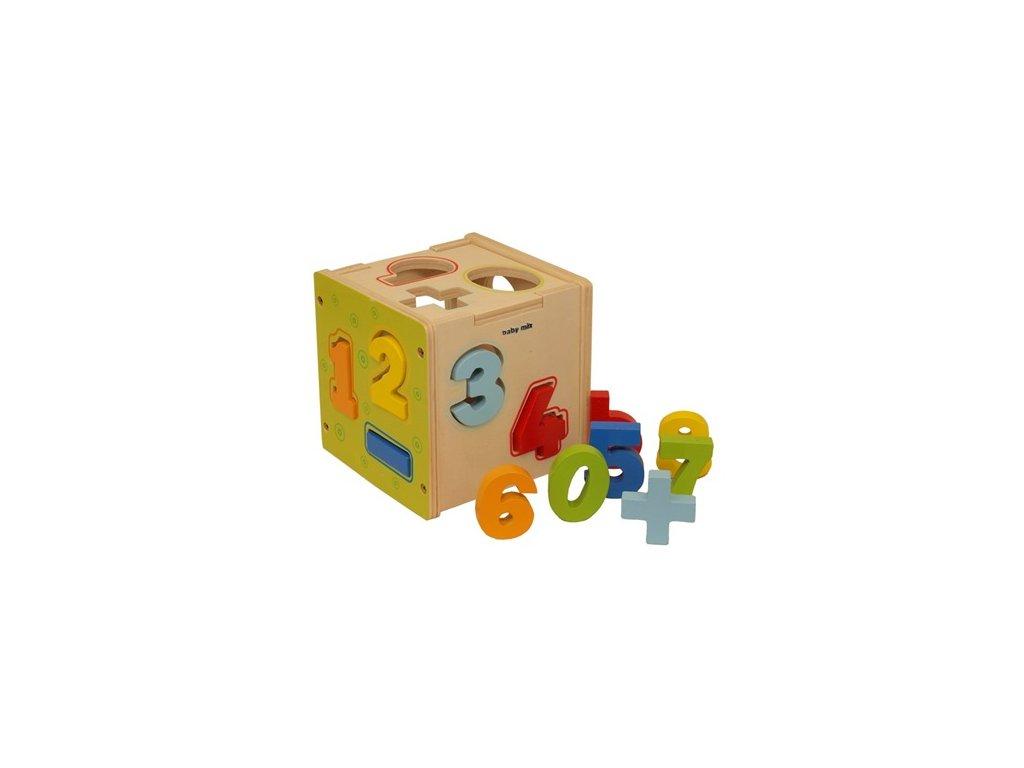 2833 drevena edukacna kocka baby mix