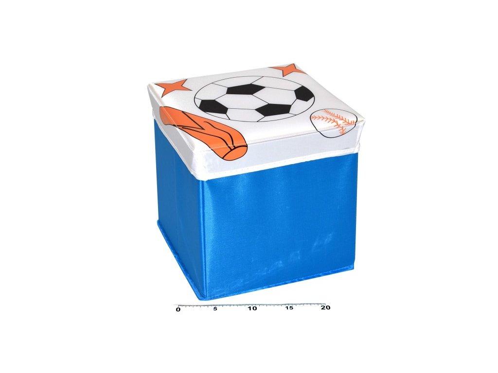 5362 box na hracky skladaci sport 25cm