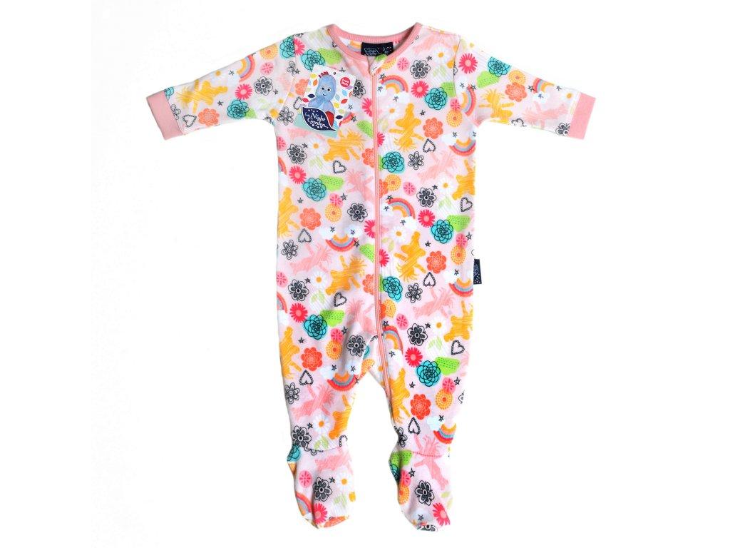In The Night Garden detské pyžamo girl pink
