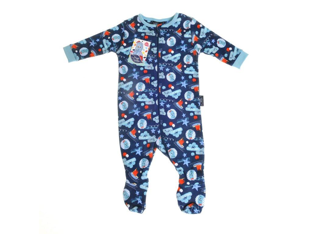 In The Night Garden detské pyžamo boy blues