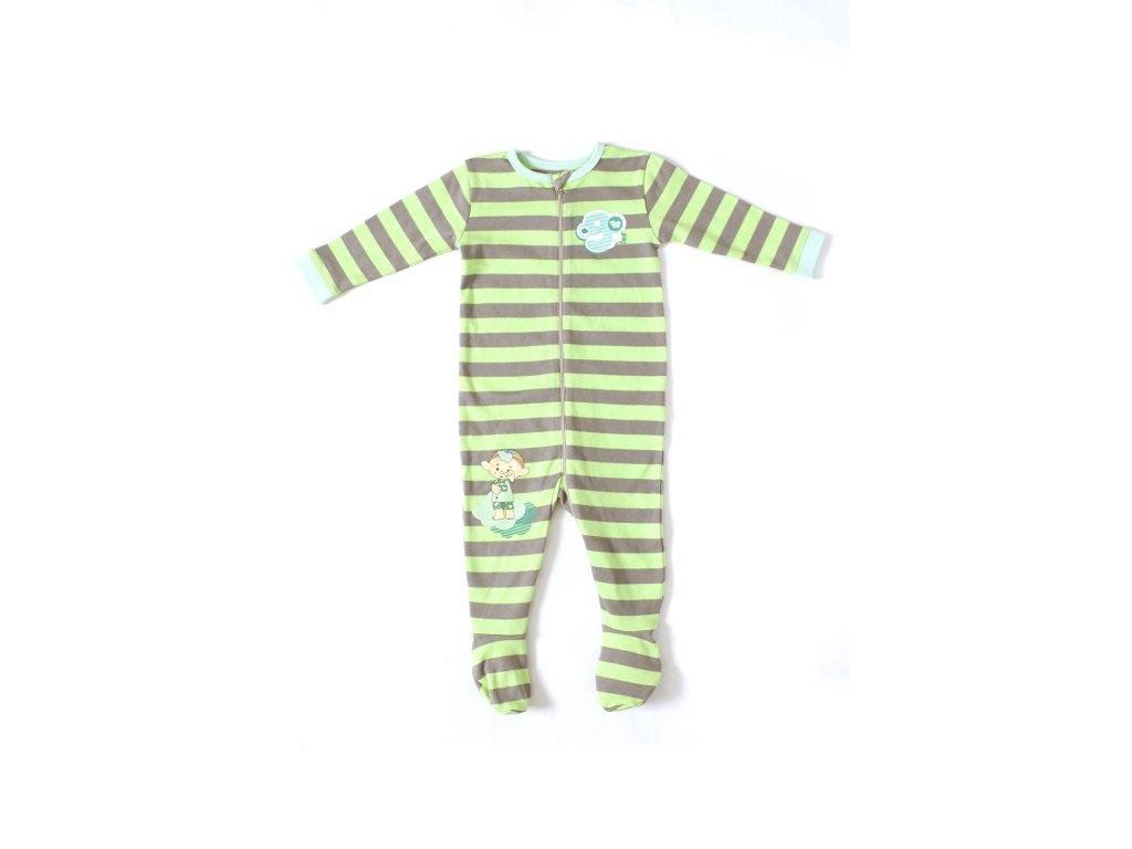 Cloudbabies pyžamko - Baba Green