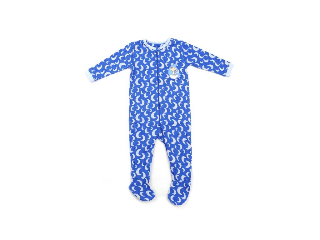 Cloudbabies detské pyžamo modré 1