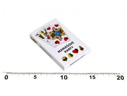 1156 karty na marias v papierovej krabicke