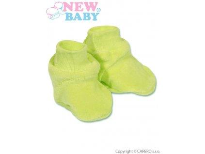 2503 detske papucky new baby zelene