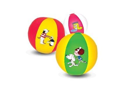 Nafukovacia lopta 45 cm (Farba Červená)