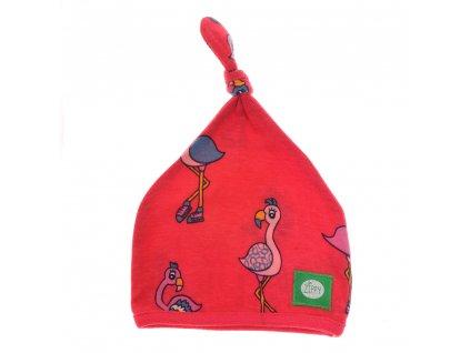 Zippy čiapka Fabulous Flamingoes (Veľkosť 3 - 6 mesiacov)