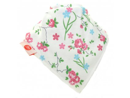 316 zippy zabavna satka white with delicate pink and blue flowers