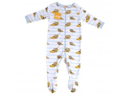 JCB detské pyžamo stripe