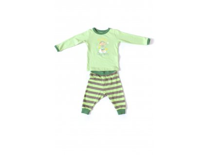 Cloudbabies dvojdielne pyžamko - Baba Green