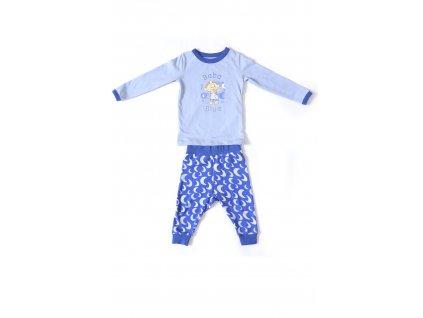 Cloudbabies dvojdielne pyžamko Baba Blue