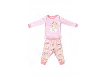Cloudbabies dvojdielne pyžamko - Baba Pink