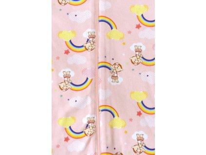 Cloudbabies dvojdielne pyžamko - Baba Pink (Veľkosť 2 - 3 roky)