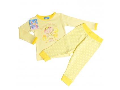 Cloudbabies dvojdielne pyžamko - Baba Yellow (Veľkosť 6 - 12 mesiacov)