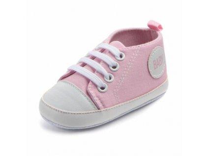 Capáčky Baby ružové (Veľkosť 6-12m (12cm))