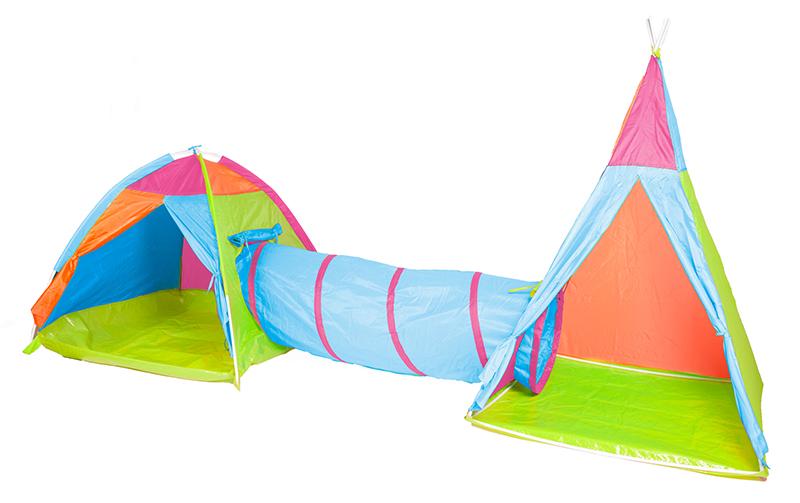 Detské stany,tunele a spacie vaky