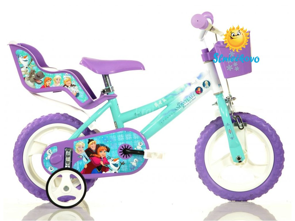 detsky-bicykel-dino-126rlfz2-so-sedackou-pre-babiku-a-kosikom-s-licenciou-frozen