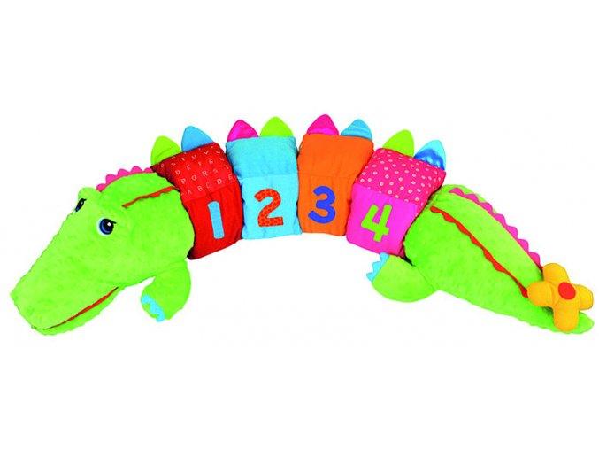 Obrovský aktívny krokodíl