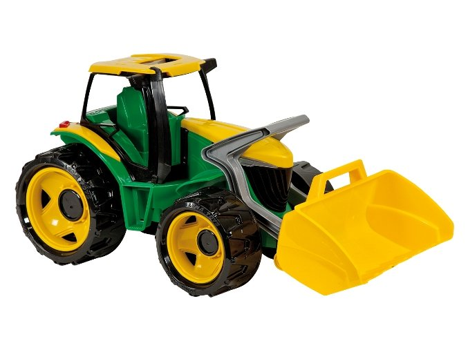 Lena Traktor s lyžicou