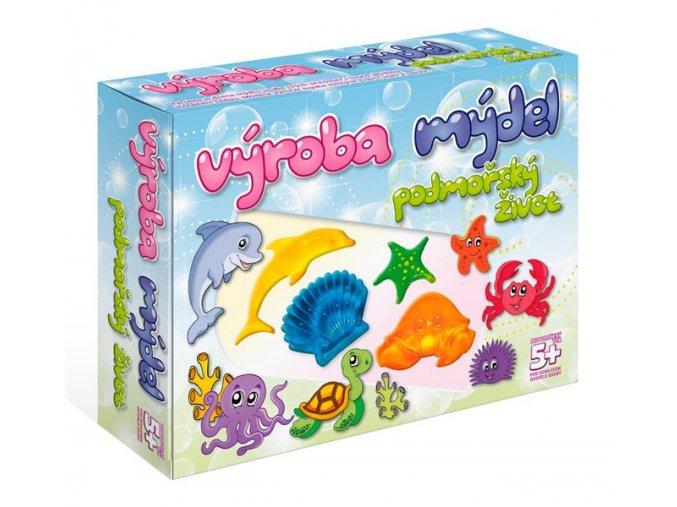 Súprava na výrobu mydla-More