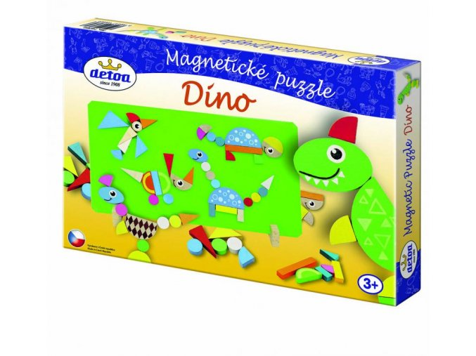Magnetické puzzle Dino