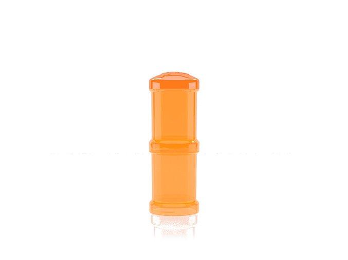 Twistshake Zásobník na sušené mlieko oranžový, 2ks