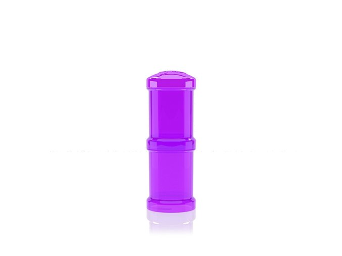 Twistshake Zásobník na sušené mlieko fialový, 2ks